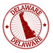 Delaware stamp
