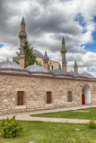 HDR: Tomb of Mevlana, the founder of Mevlevi sufi dervish order, poster