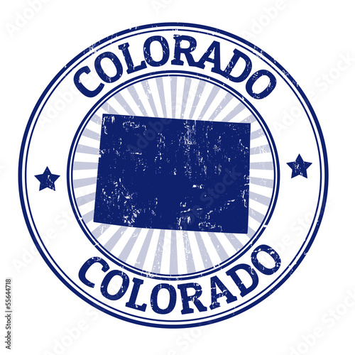 Colorado stamp