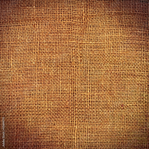 Burlap with Vignette
