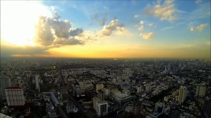 Bangkok sunset [HD]