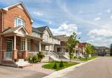 Fototapety Suburban homes