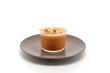 glass with gazpacho, Spanish traditional food