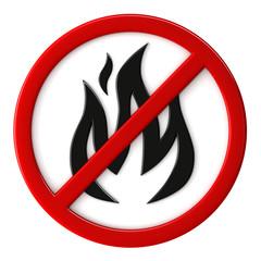 Fire not allowed