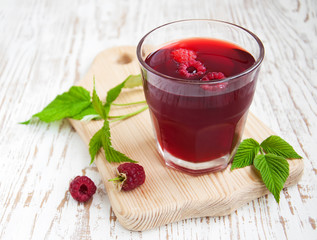 Summer Raspberry drink