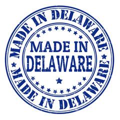 Made in Delaware stamp