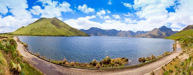 Mojanda Lake, Ecuador