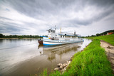 Criuse ship on the Vistula river in Poland