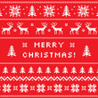Merry Christmas greeting card, sweater design - 55649996