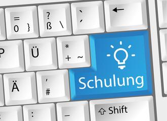Schulung - Seminar - Weiterbildung - Tastatur deutsch