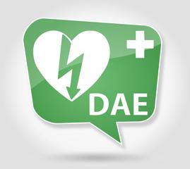 Bulle : Logo DAE