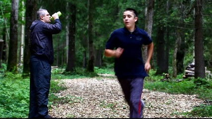 Boy running in the park episode 8