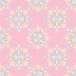 Decorative pink seamless Pattern