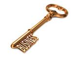 Business - Golden Key.