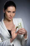 Wealthy businesswoman. Confident middle-aged woman in formalwear poster