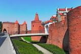 Fototapety Warschau Stadtmauer