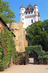 Eltville, die Kurfürstliche Burg (2013)