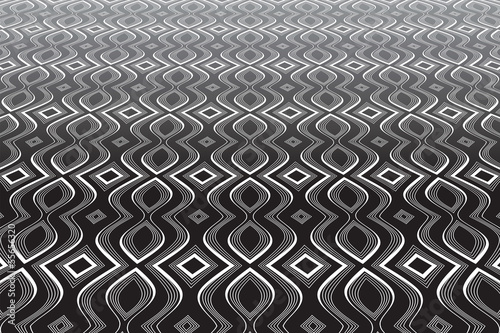 Abstract op art background. Textured surface. - 55656320