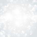 Lights on silver background - Vector illustration