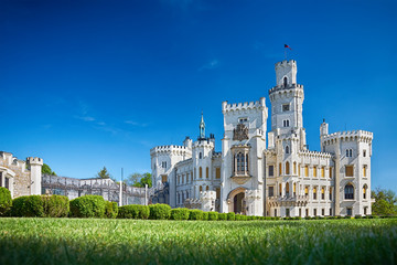 bohemian castle Hluboka nad Vltavou