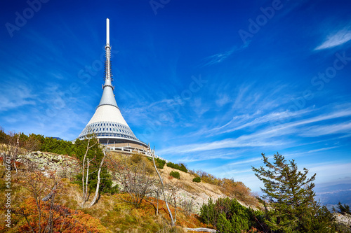 View on Jested tower ,Liberec, Czech Republic