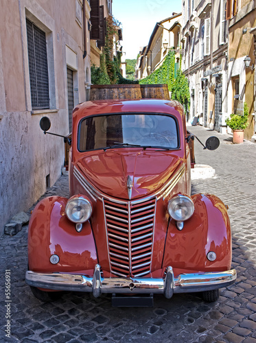 Foto op Canvas Scooter Trastevere - Rome - Italy