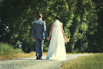 Hochzeitspaar-Der Weg