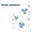 Stylish Floral Background - Vector illustration