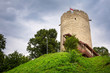 Tower of the castle in Kazimierz Dolny at Vistula river, Poland