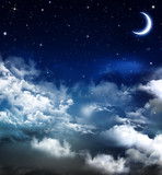 Fototapety beautiful background, nightly sky