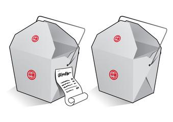 Nudelbox To Go chinesisch