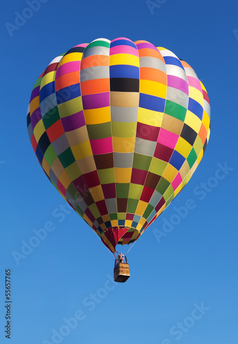 Papiers peints Montgolfière / Dirigeable Colorful Hot Air Balloon