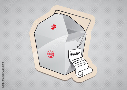 Nudelbox To Go Sticker