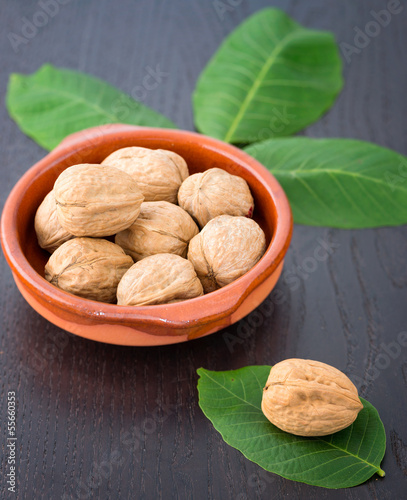 Walnuts in shells