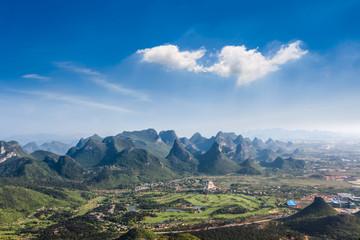 guilin hills landscape