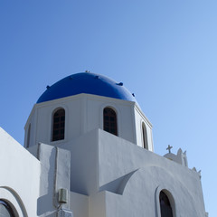 Church Building - Oia town - Santorini - Greece