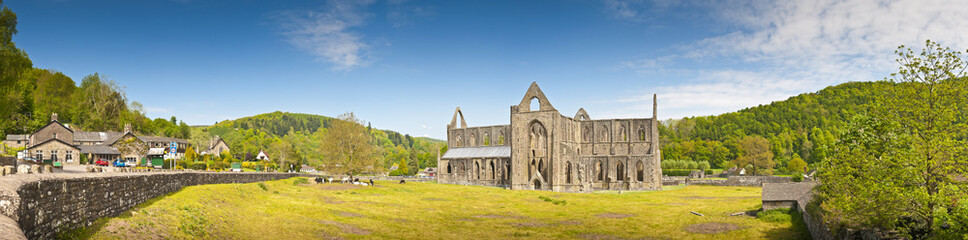 Ancient Ruins, Tintern Abbey, Wales, UK