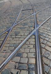 Schienenkreuzung
