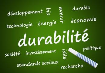 durabilité (durable, ressources, énergie, renouvelable)