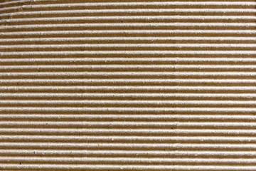 Textura de cartón ondulado