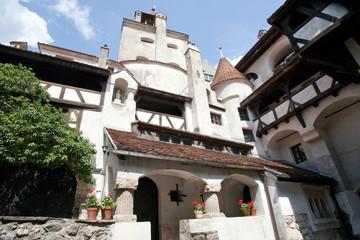Bran castle inner yard
