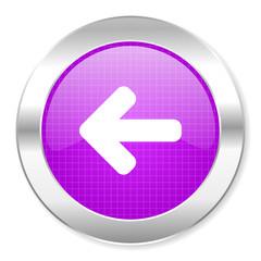 arrow left icon