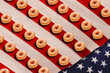 Donuts and Old Glory.