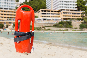 buoy of a lifeguard