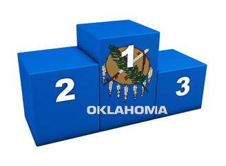 Oklahoma State Flag Podium