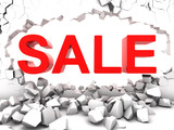 Destructive sale
