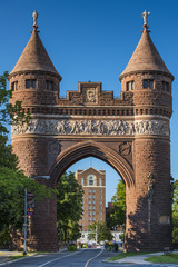 Gate in Bushnell Park in Hartford, Connecticut