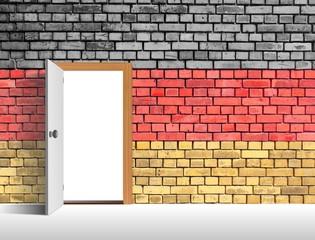 Mauer Tür Deutschland