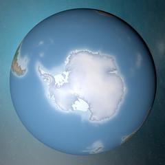 Mondo terra globo Antartide continente
