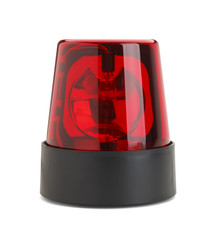 Red Police Light